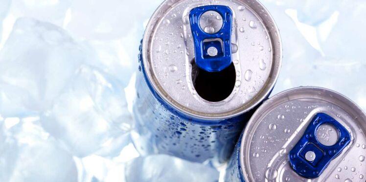 Les boissons énergisantes pour les enfants c'est non !