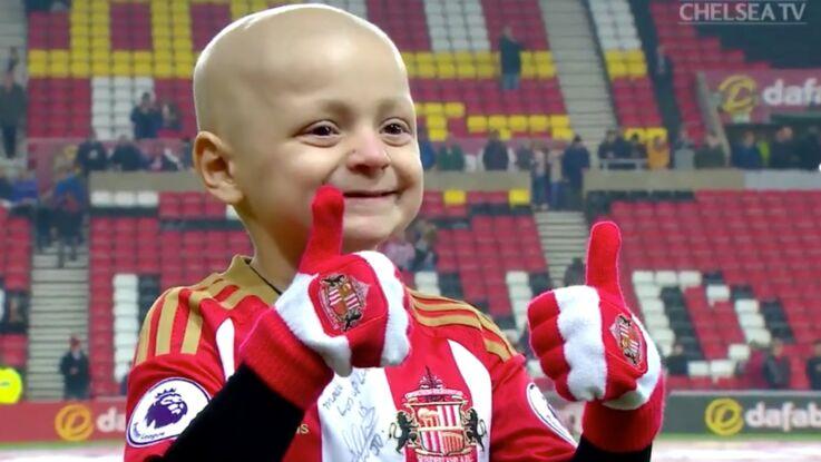 Atteint d'un cancer, le petit Brad a passé une soirée qu'il n'est pas près d'oublier