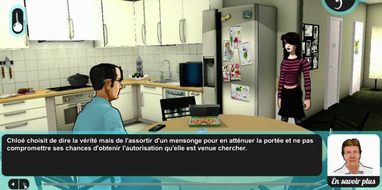 Un jeu vidéo simule des disputes entre ados et parents