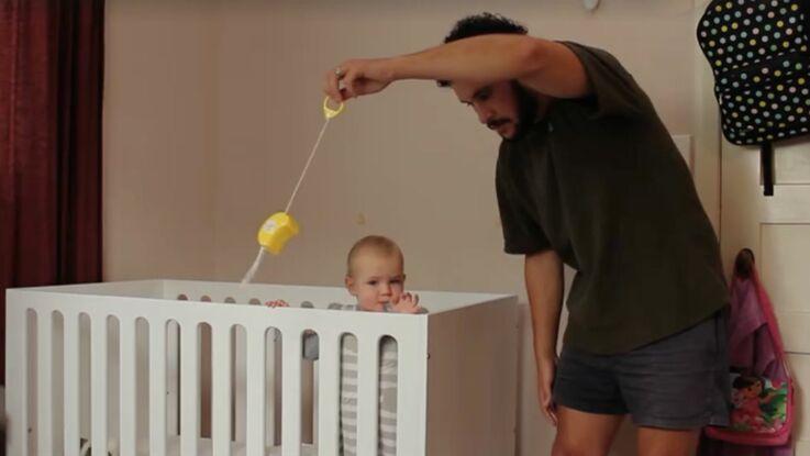 VIDÉO. Voici comment faire pour endormir bébé… et ne surtout pas le réveiller !