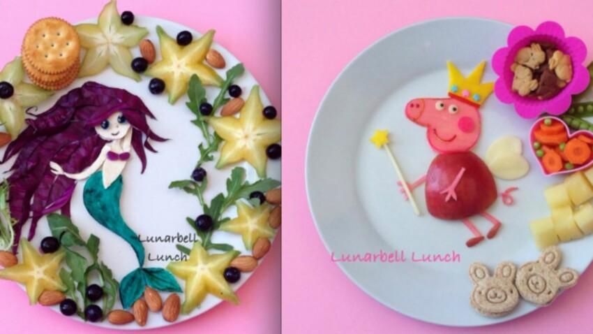 Des fruits et légumes plein l'assiette pour les enfants