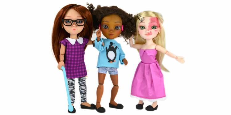 Des poupées avec un handicap pour prôner la tolérance