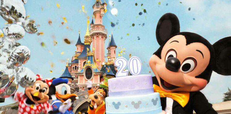 Disneyland Paris : une entrée gratuite pour fêter les 20 ans du parc