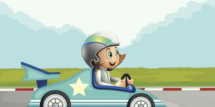 Les enfants prennent le volant !