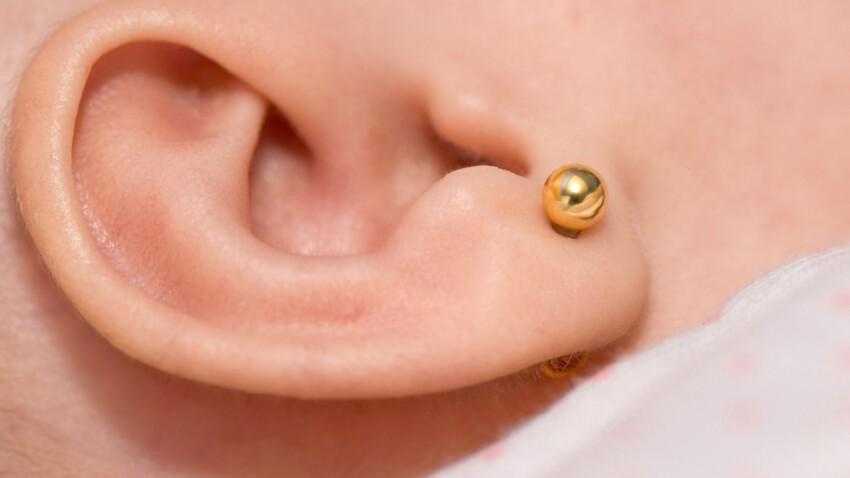 Faut-il percer les oreilles des bébés ?
