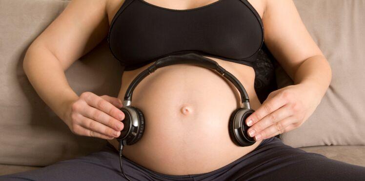 Les foetus réagissent aussi à la musique