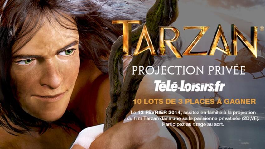 Gagnez 30 places pour une projection privée de Tarzan