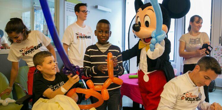 Quand les héros de Disney se rendent au chevet des enfants hospitalisés