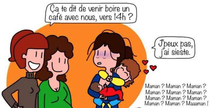 Humour : La vraie vie des mamans en dessins