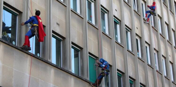L'hôpital Necker pris d'assaut par des super héros!