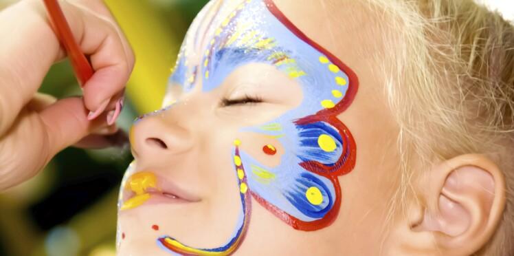 Mardi gras : attention aux maquillages pour enfants