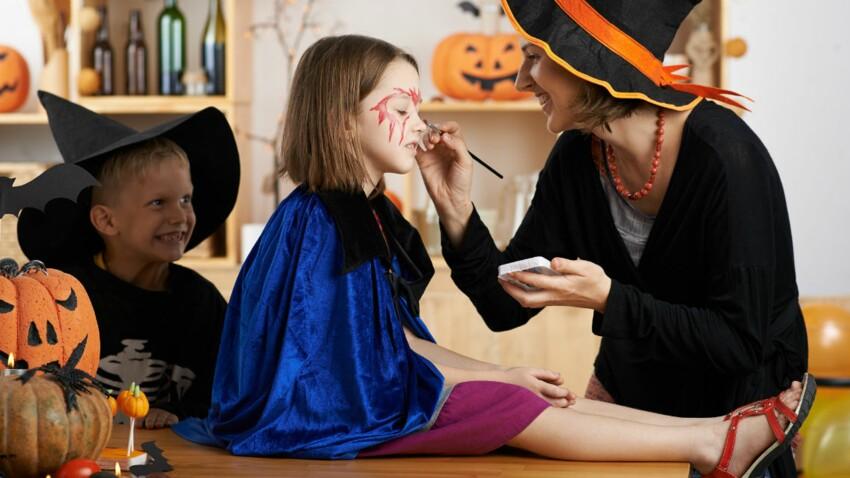 Maquillages d'Halloween : la plupart contiennent des substances toxiques