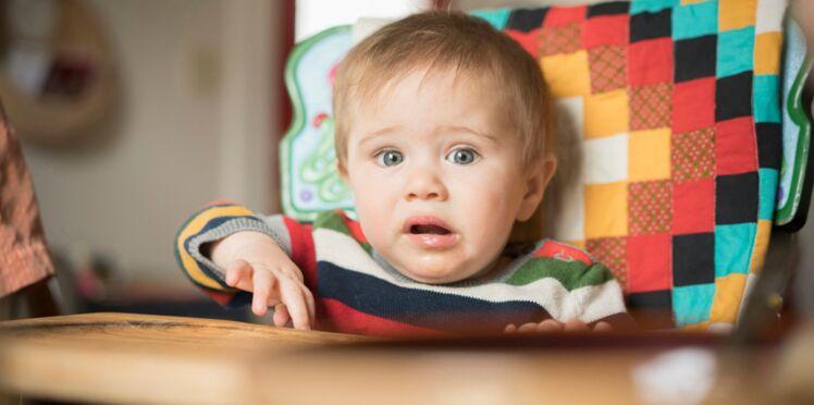 Dès 3 mois et demi, le bébé reconnait la peur sur le visage des adultes