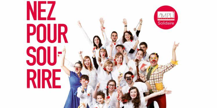 Des nez rouges pour soutenir les enfants hospitalisés