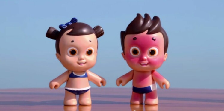 Nivea Doll : les poupées qui attrapent des coups de soleil !