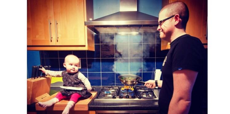 Un papa crée des photos choc pour sensibiliser au don d'organe