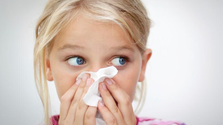 Plus d'un enfant sur trois souffre d'allergie