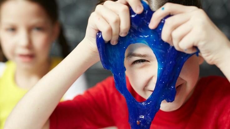 Pourquoi il ne faut pas laisser les enfants fabriquer du slime sans surveillance