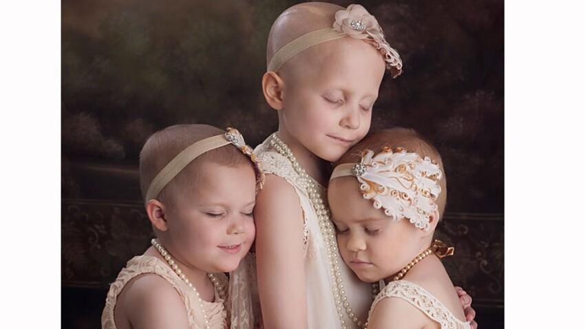 3 ans après, des petites rescapées du cancer se retrouvent pour une séance photo très touchante
