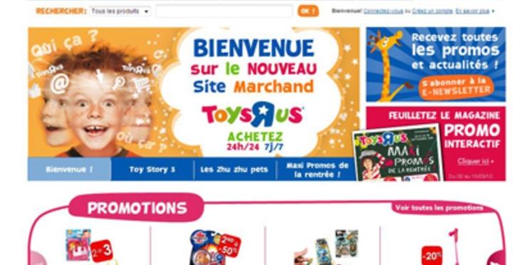 Lancement du site marchand Toys'R'Us