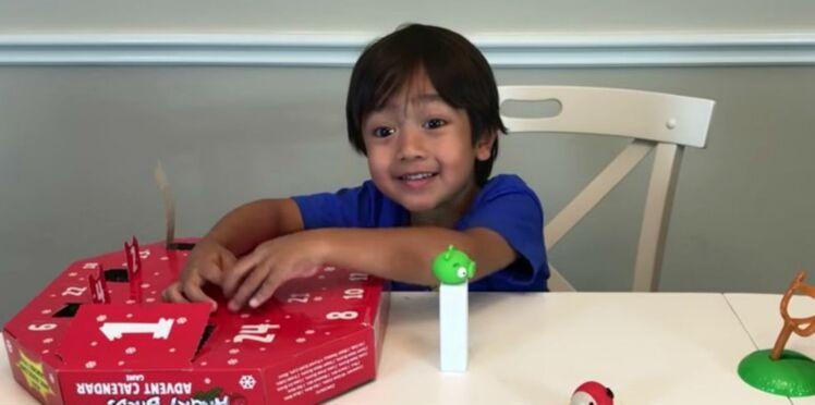 À 6 ans, Ryan a déjà gagné 11 millions de dollars avec sa chaîne Youtube