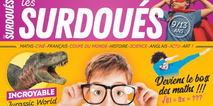Les Surdoués, un nouveau magazine en alternative aux cahiers de vacances
