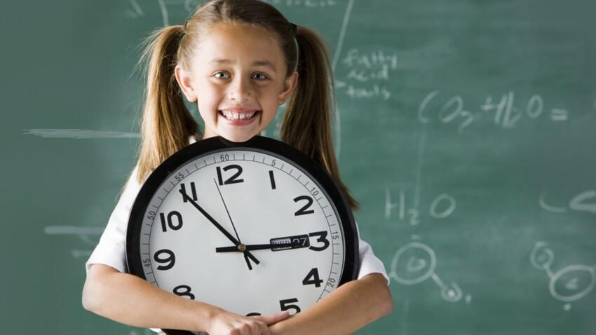C'est entre 6 et 8 ans que l'on acquiert la notion de temps