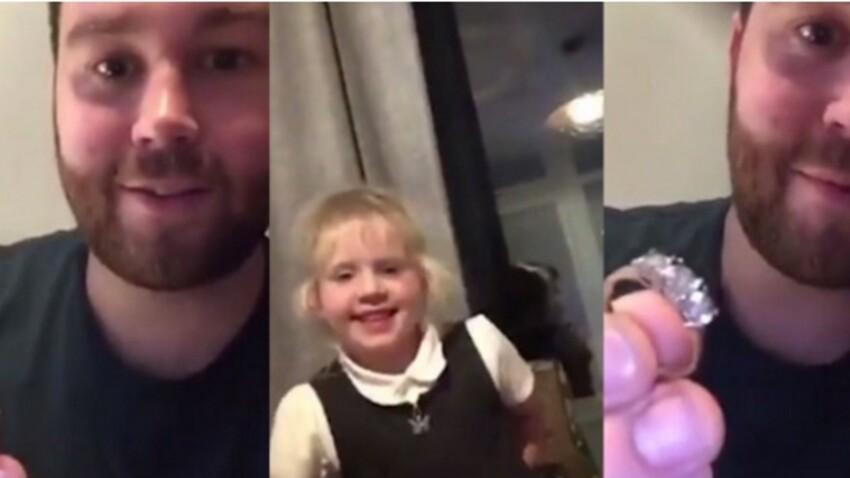 Un enfant vole la bague de fiançailles de sa mère pour l'offrir à son amoureuse