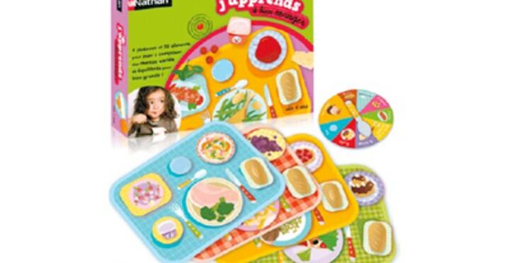 Un jeu pour apprendre l'équilibre alimentaire