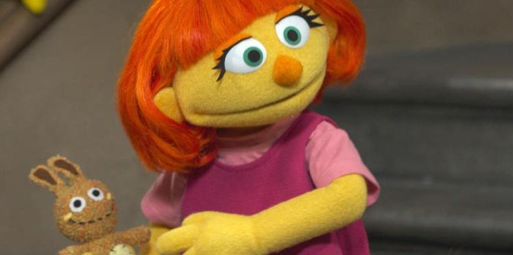 """Un personnage autiste arrive dans le """"Sesame Street"""""""
