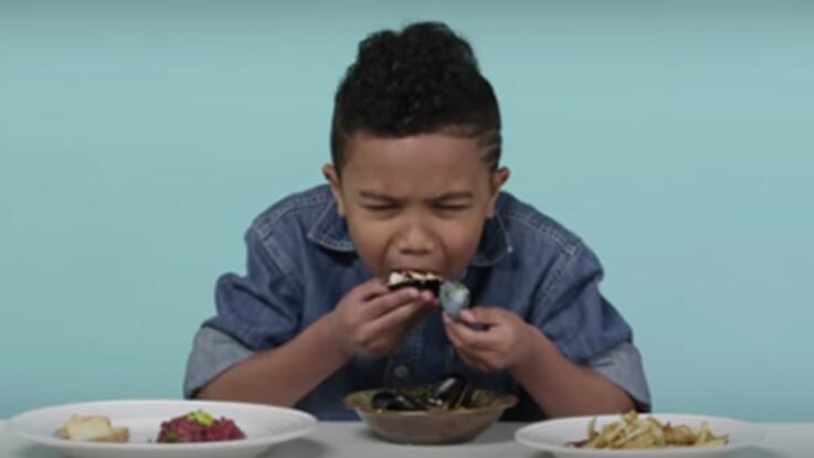 """VIDEO – Les petits américains dégoûtés par la """"french food"""""""