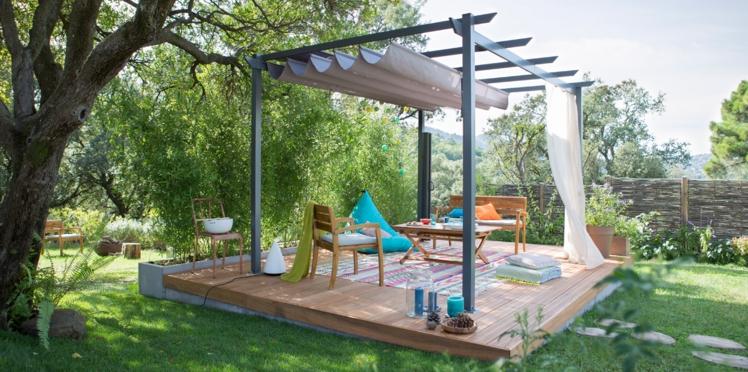 Balcon, terrasse, jardin, aménagez votre extérieur