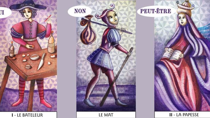 c778add45e558c Tarot de Marseille instantané   le tirage oui non   Femme Actuelle ...