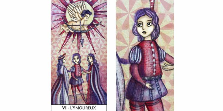Tarot de Marseille : l'Amoureux