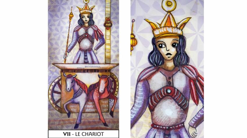Tarot de Marseille : le Chariot