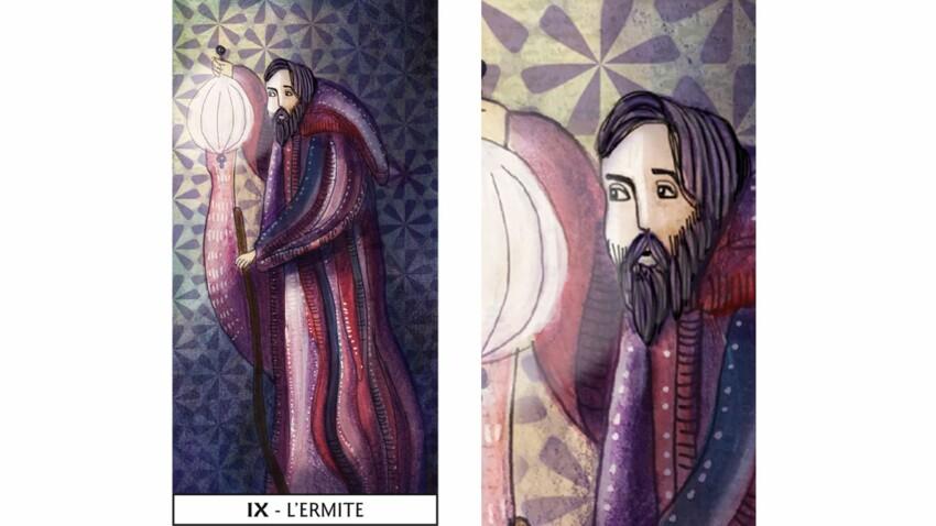 Tarot de Marseille : l'Hermite