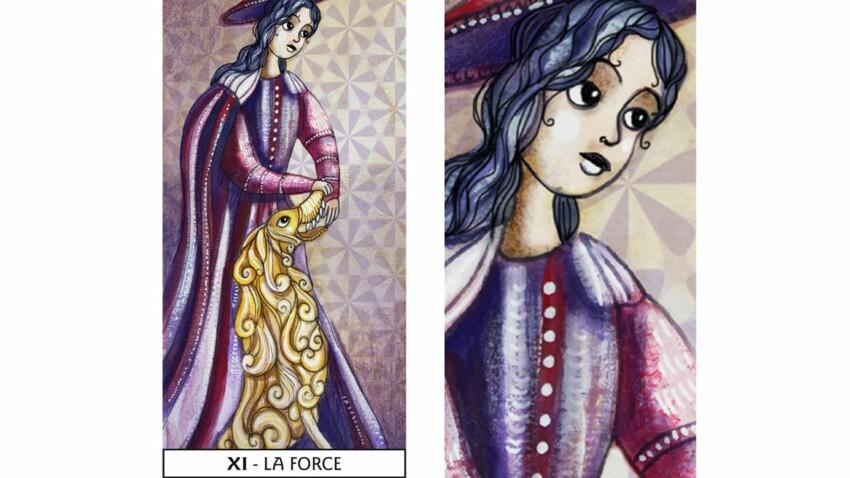 Tarot de Marseille : la Force