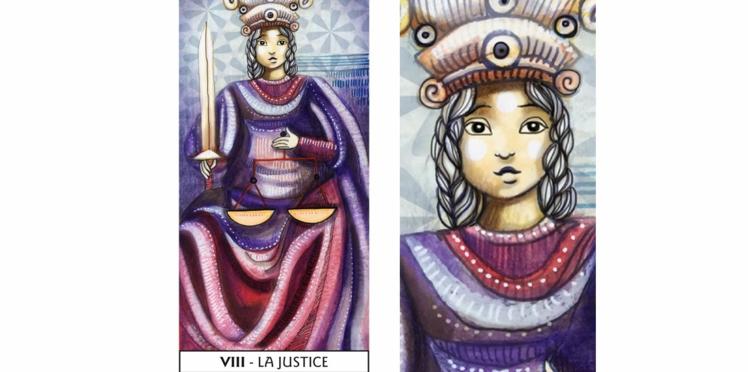 Tarot de Marseille : la Justice