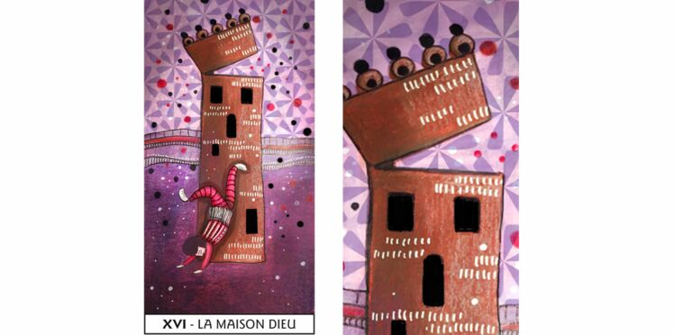 Tarot de Marseille : la Maison Dieu
