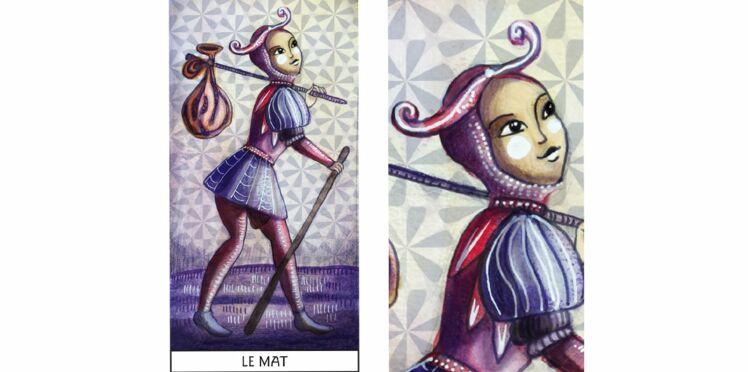 Tarot de Marseille : le Mât