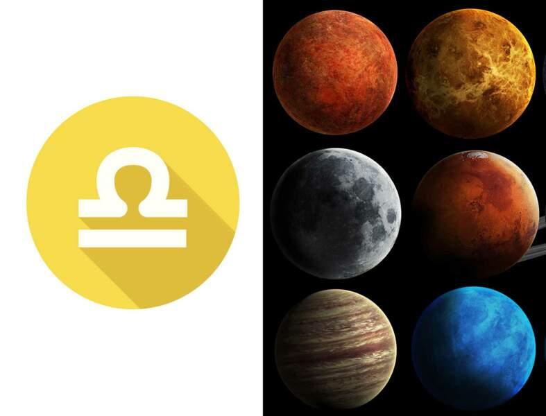 Balance : l'influence des planètes sur votre signe