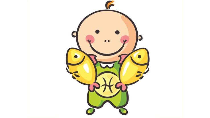 Horoscope du bébé Poissons : son profil astro par Marc Angel