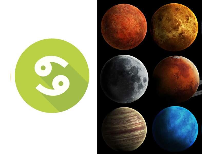 Cancer : l'influence des planètes sur votre signe