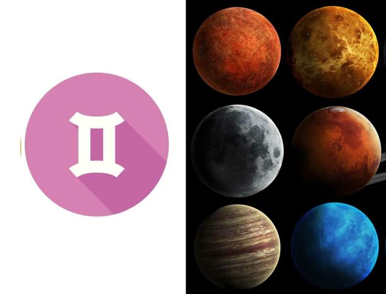 Gémeaux : l'influence des planètes sur votre signe