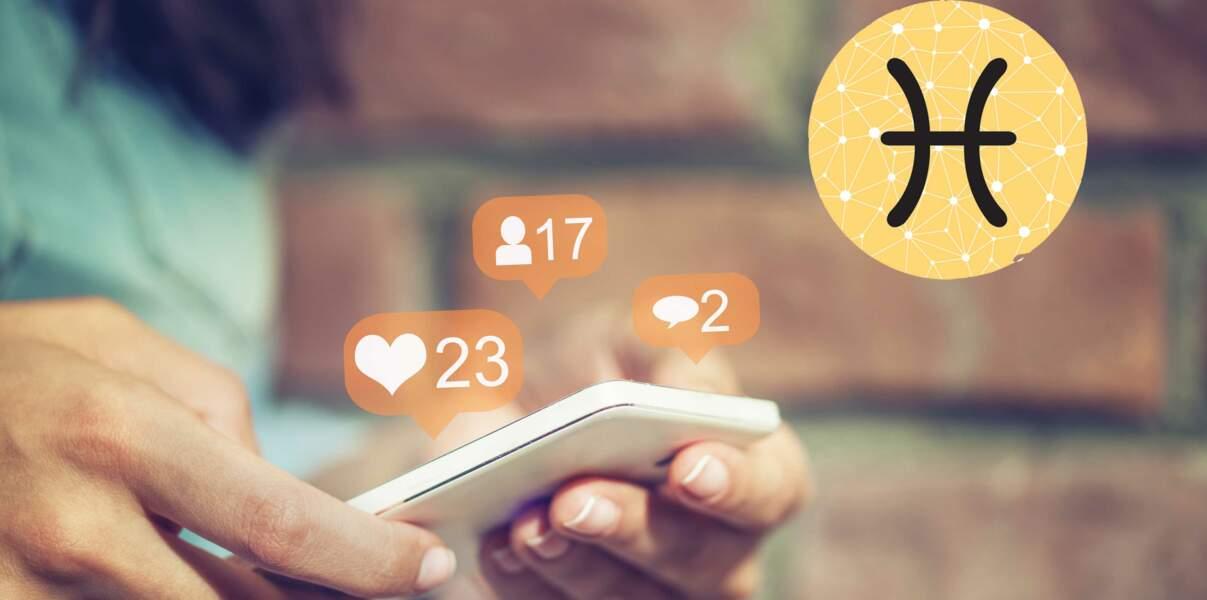 Horoscope 2018 : conseils façon Facebook pour le signe astrologique du Poissons