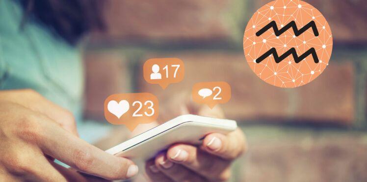 Horoscope 2018 : conseils façon Facebook pour le signe astrologique du Verseau