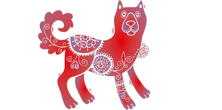 Coloriage Animaux Horoscope Chinois.Horoscope Chinois 2017 Du Chien Les Previsions De Marc Angel