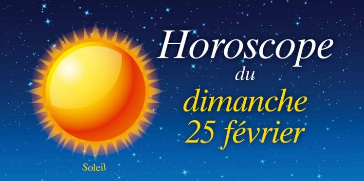 Horoscope du dimanche 25 février par Marc Angel