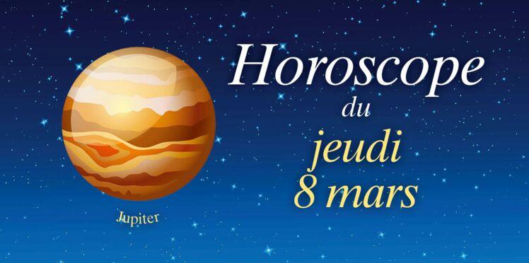Horoscope du jeudi 8 mars par Marc Angel