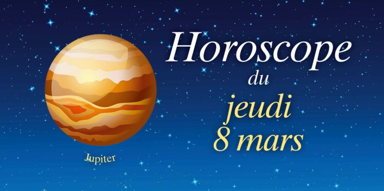 Horoscope du jeudi 8 mars par Marc Angel